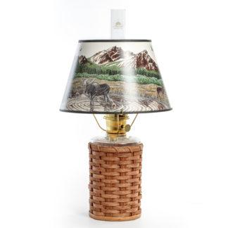 Aladdin Lamp Heartland Wicker Series