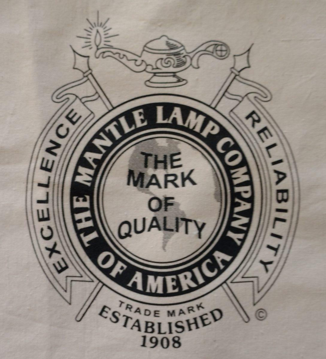 Aladdin Lamp Book Bag With 1908 Crest Logo Design