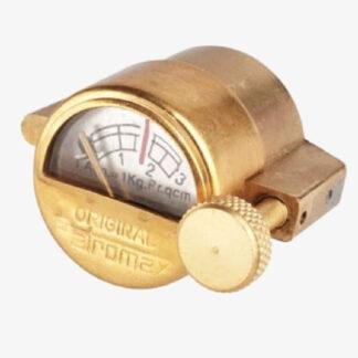 Petromax Lantern Lamp Filler cap with Pressure gauge Brass