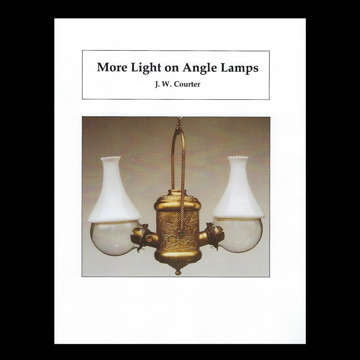 Lamps And More: More Light On Angle Lamps By J.W. Courter