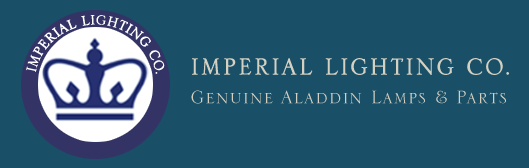 Imperial Lighting Co. Genuine Aladdin Lamps and Parts.
