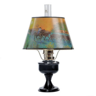 Aladdin Metal Table Lamps with Shades